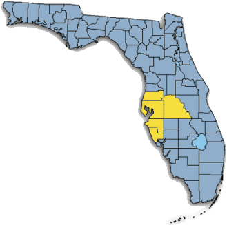 Florida Counties with service area